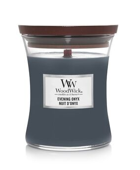 WoodWick Evening Onyx medium candle 301104