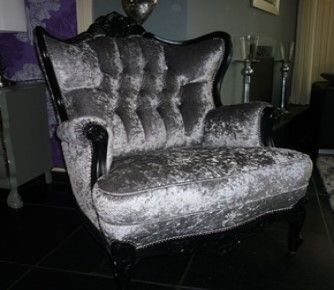 Fauteuil herstoffering