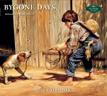 2020 Bygone Days Jim Daly-pine ridge art kalender.jpg