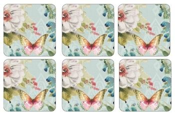 pimpernel colorful breeze coasters