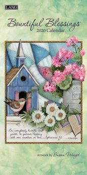 2020 Bountiful Blessings-Smalle Lang kalender